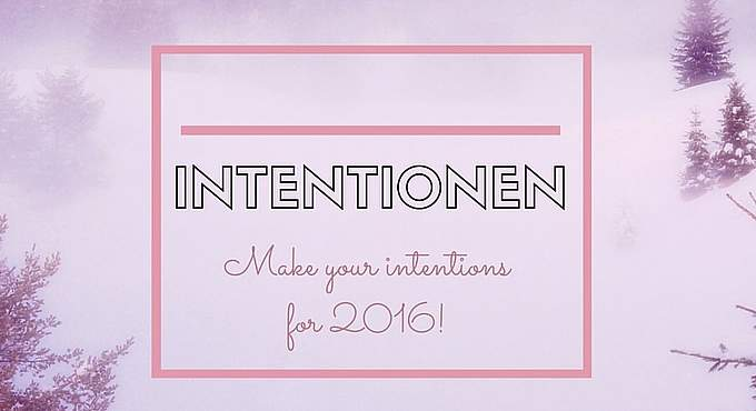 I LOVE INTENTIONS